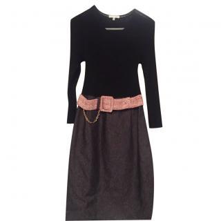 Paule Ka Dress with Belt