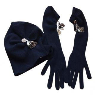 Dolce & Gabbana Beanie and Gloves