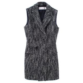 Christian Dior Sleeveless Tweed Gilet