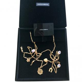 Dolce & Gabbana Sicily statement necklace