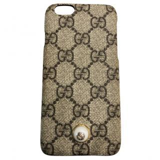 Gucci iPhone 6 Pearl Phone Case