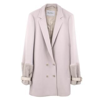 Max Mara Cream Coat