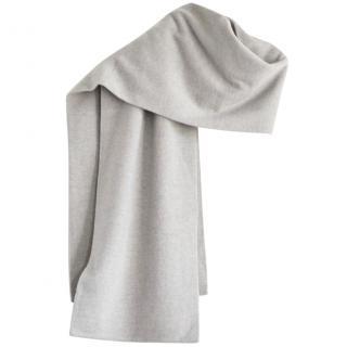 Ralph Lauren Black Label grey cashmere scarf
