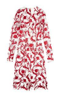Jonathan Saunders Venetia Embroidered Lace Dress