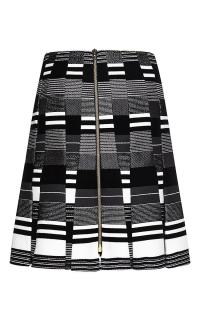 Roland Mouret Striped Odessa Skirt