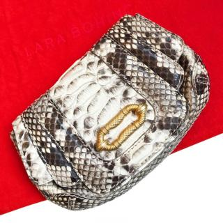 Lara Bohinc Exotic Python Clutch