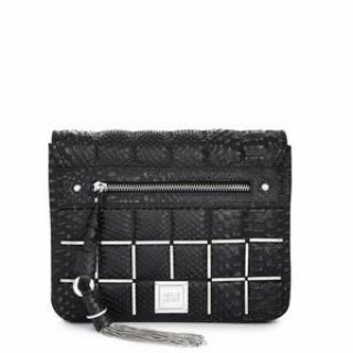 Herve Leger Elsa Quilted Shoulder Bag