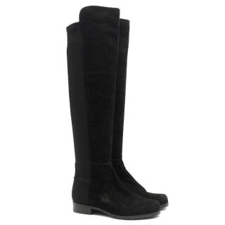 Stuart Weitzman 5050  Black Boots