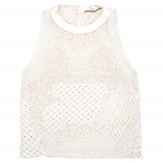 Ermanno Scervino Sleeveless Lace top