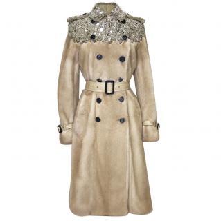 Burberry Prorsum Mink Fur Coat