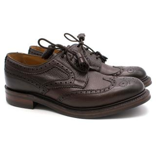 Joseph Cheany dark brown leather Brogues