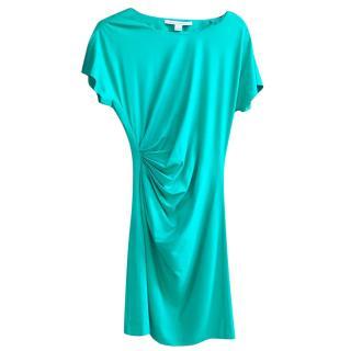 Diane von Furstenberg green dress