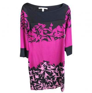 Diane von Furstenberg silk patterned dress