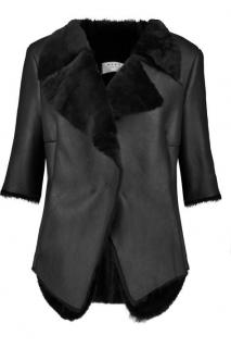 Draped Marni Shearling jacket