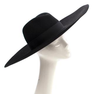 Saint Laurent Lapin Furfelt Hat