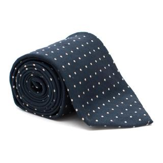 Polo by Ralph Lauren Navy Polka-Dot Tie