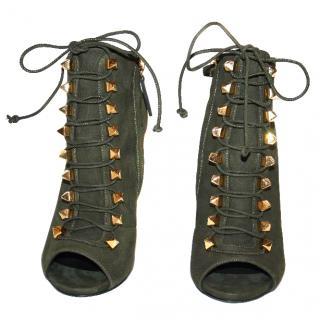 Giuseppe Zanotti Studded Booties / Heels