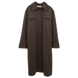 Marni Wool Button Down Coat
