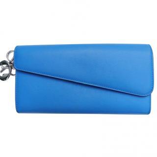 Dior blue diorissmo wallet
