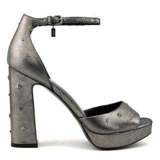 Coach Margarita Star platform pumps