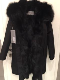 Yves Salomon Army Parka Fox Fur