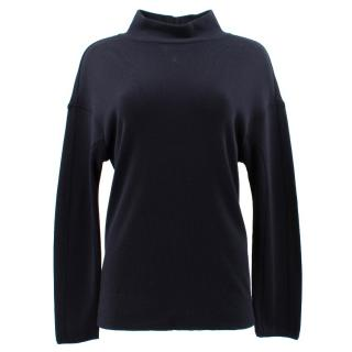 Marni Navy Turtle Neck