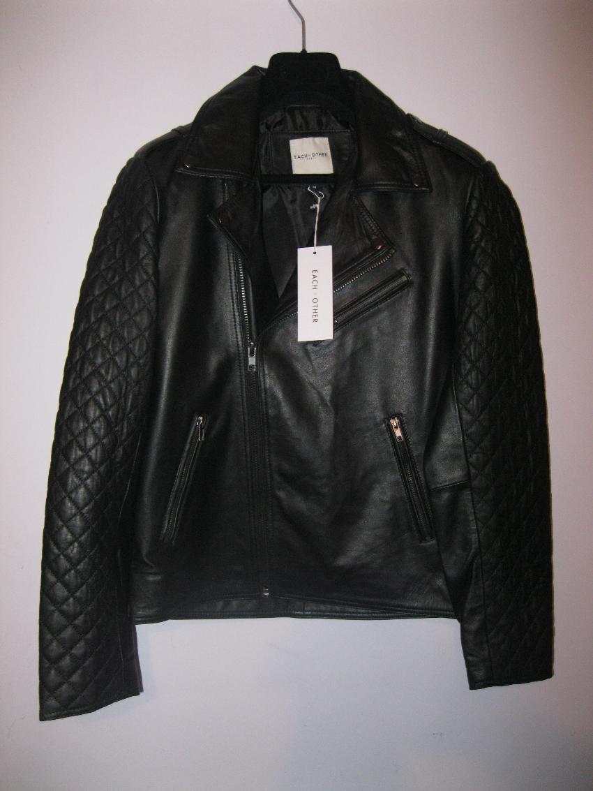 Each X Other Leather Biker Jacket129400 Hewi