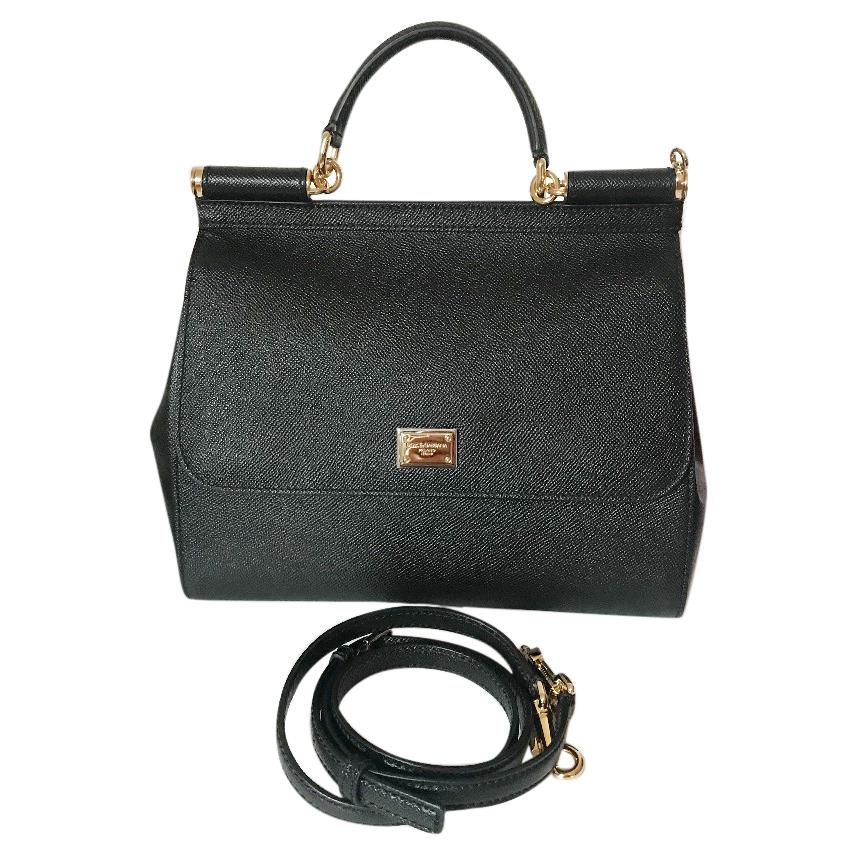 3e147b02d4 Dolce Gabbana Medium Sicily Bag 1 | HEWI London