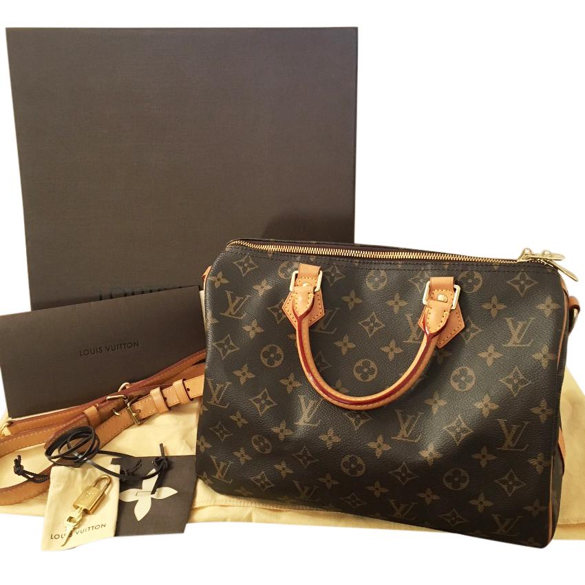 cab72ddbd5f9 Louis Vuitton Speedy 30 Bandouliere Bag
