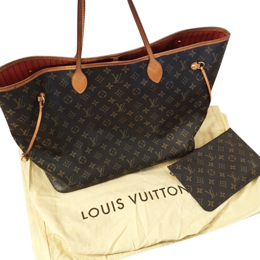 cf4b3b7183c7 Louis Vuitton Neverfull Gm Tote Bag