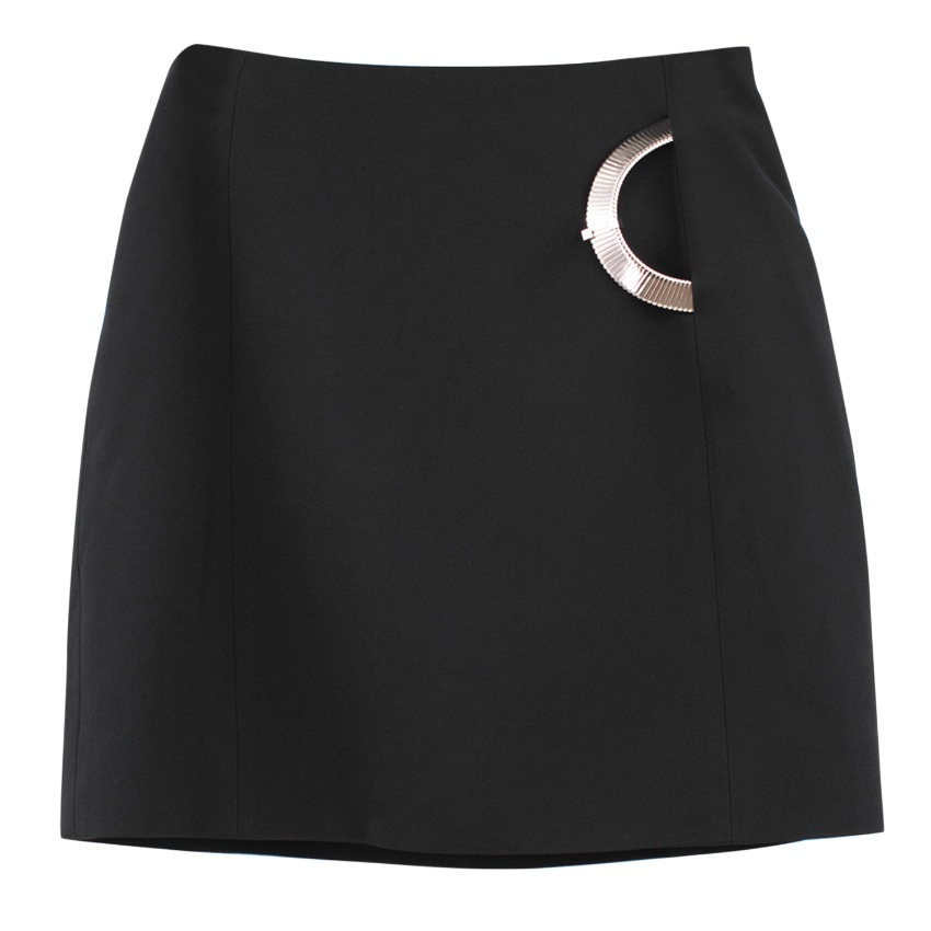 Thierry Mugler Mini Skirt with Silver details