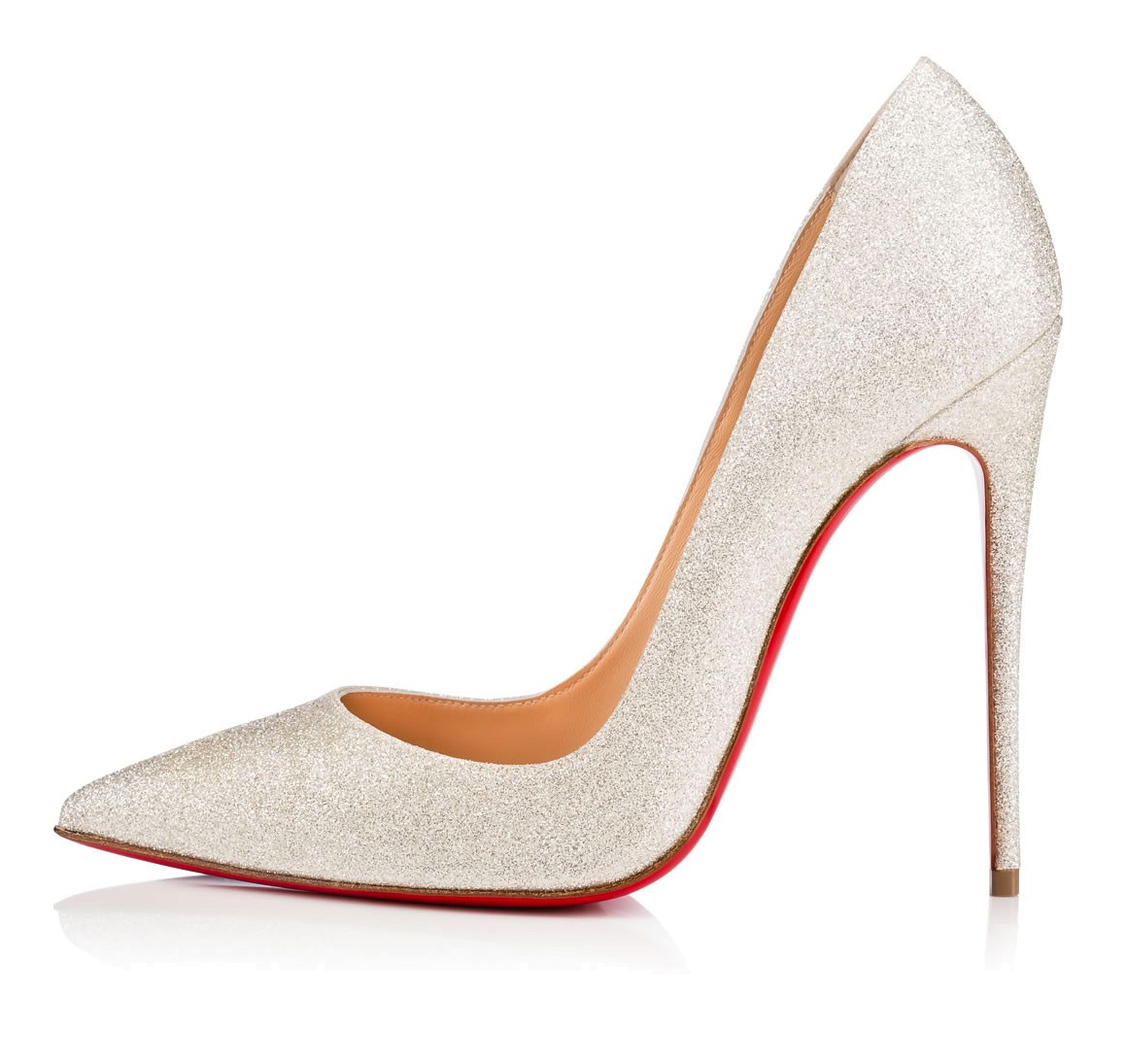 wholesale dealer aacb9 c6b7d Christian Louboutin So Kate 120 Glitter Shoes