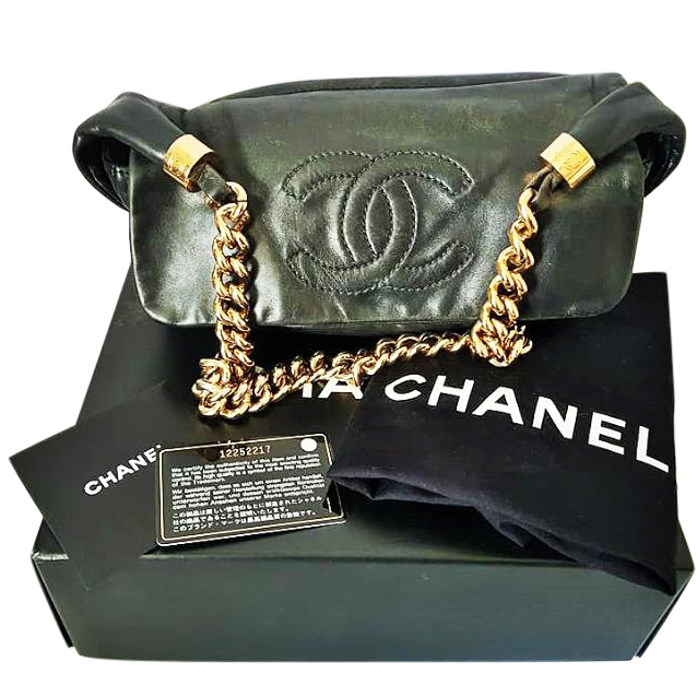 763e99786974 Chanel Rodeo Drive Lambskin Bijoux Chain Shoulder Bag129748 | HEWI ...