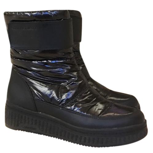 Calvin Klein Black Snow Boots | HEWI