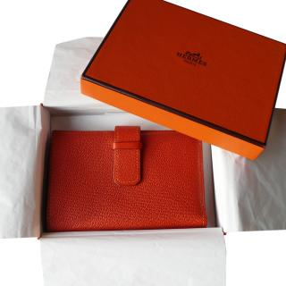 Hermes small fold wallet