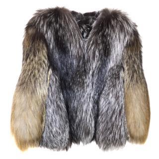 Liska Fox fur Jacket Size S