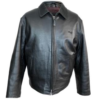 Schott NYC Leather Biker Jacket