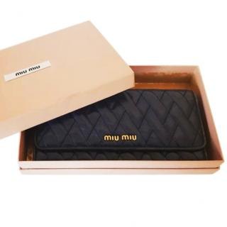Miu Miu Quilted Leather Purse