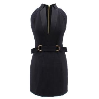 Balmain Sleeveless Wrap Front Dress