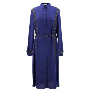 Altuzarra Bandido Occasion Blue Dress
