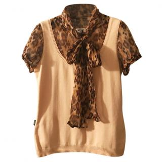 Moschino bouse+vest top