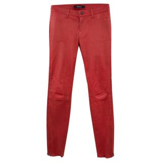 J Brand L8001 Lamb Leather Jeans