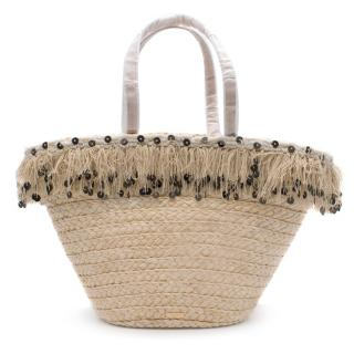 Kate Spade Straw Tote