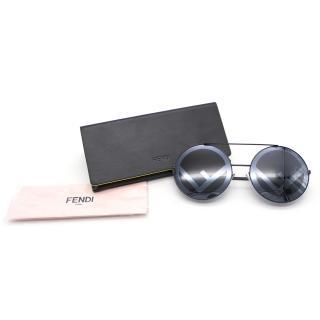Fendi black AW17 Run Away Sunglasses