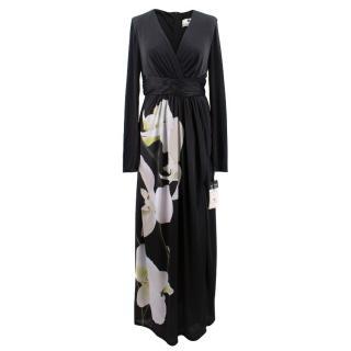 Altuzarra X Target Orchid Print Satin Dress