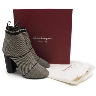 Salvatore Ferragamo Tech Knit Bootie