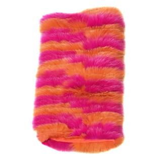 Hockley Freesia Pink & Orange Fox Snood Wrap