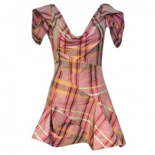 VIVIENNE WESTWOOD Red Label Tartan Dress