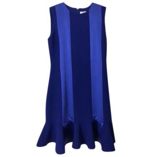 Victoria Victoria Beckham blue dress