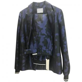 Zoe Jordan Blue Camouflage Suit